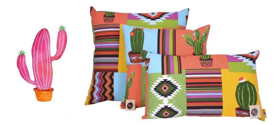 Almofadas cactus